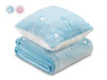 Set batanije & jastëk për fëmijë Warm Hug V3